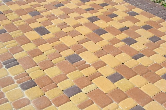 Укладка тротуарной плитки. Плитка тротуарная укладка.