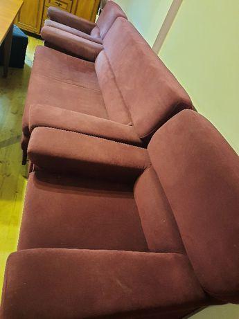 sofa plus dwa fotele