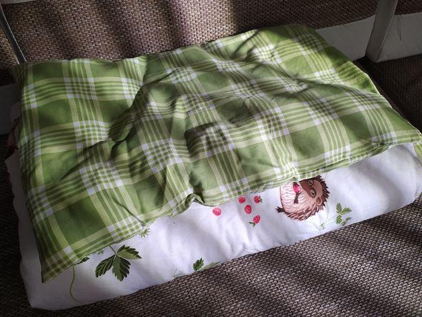Ikea pościel do dziecięcego łóżeczka komplet