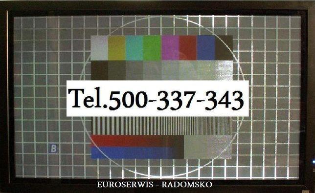 Serwis Telewizorów Radomsko - Naprawa TV-LCD LED Qled PLAZMA