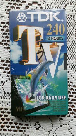 Kaseta video VHS TDK 240