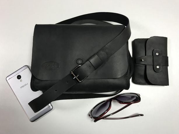 Жіноча шкіряна сумка