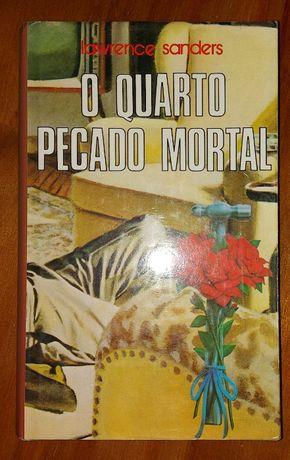"""""""O Quarto Pecado Mortal"""", de Lawrence Sanders"""