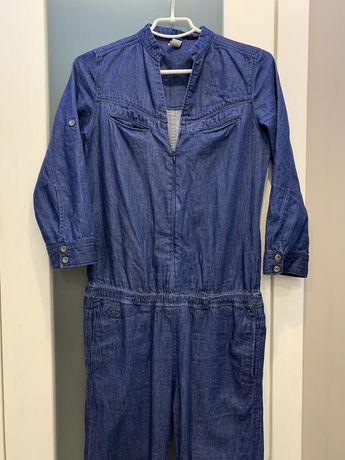 Стильный джинсовый комбинезон мультибрендовой фирмы g star