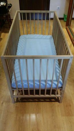 Кроватка детская с матрасом и защитой. Ст.М. Нивки