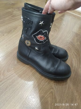 Ботинки, кожа, осень, 1000 руб, 36 размер