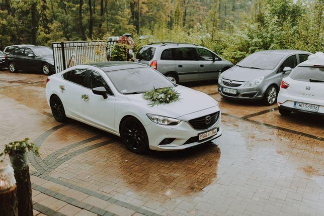 Samochód do Ślubu Mazda 6