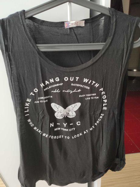 Koszulka z rozporkiem z boku
