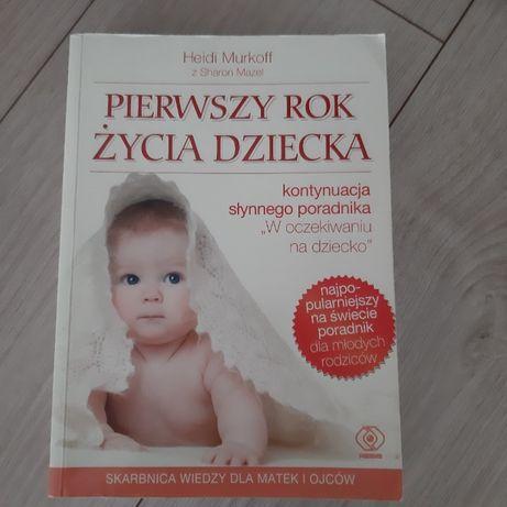 """Książka """" Pierwszy rok z życia dziecka"""""""