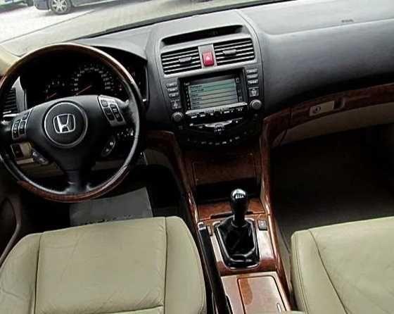 Honda Accord VII 7 skóry silnik skrzynia klapa wtryski sanki Części