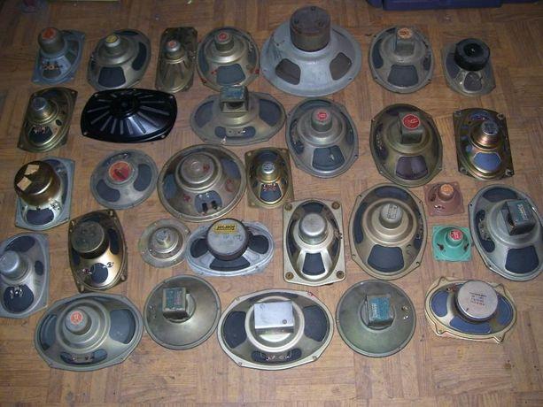 Głośniki różne o różnych impedancjach i wymiarach