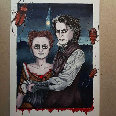 Rysunek / ilustracja - Sweeney Todd