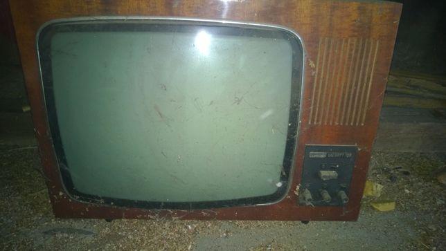 telewizor lazuryt 106 zabytkowy PRL
