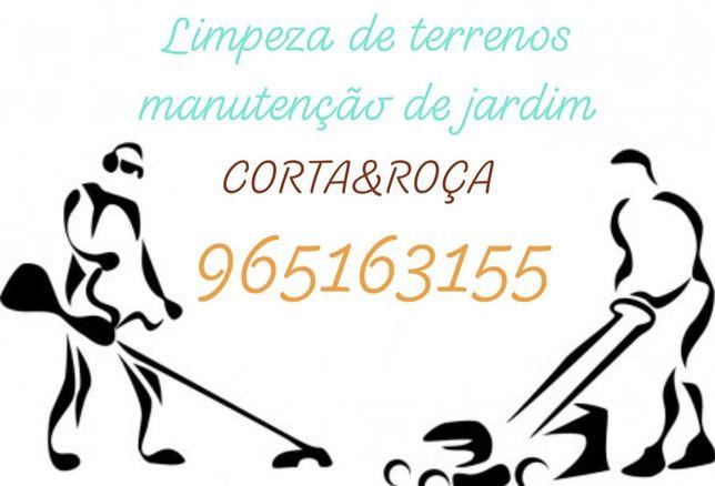CORTA&ROÇA (Limpeza de terrenos e manutenção de jardins)