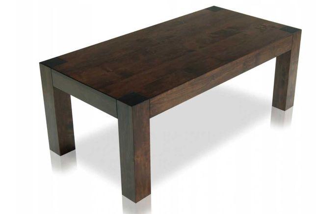 Stolik z drewna olchowego 120x60 NOGI 9x9