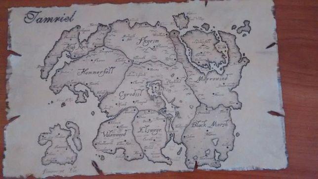 Réplica mapa Morrowind NOVO