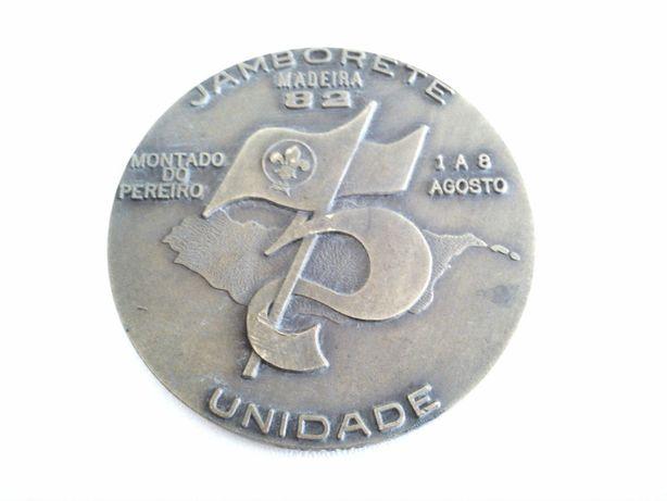 Medalha CNE - Jamborete Madeira 82