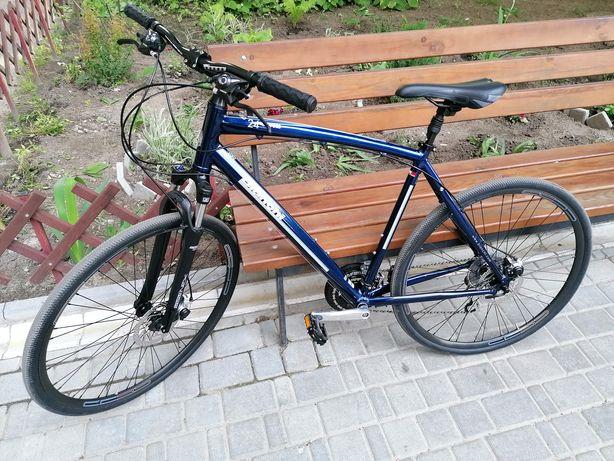 Велосипед Bianchi C-SPORT CROSS Gent alu Acera 24s Disc синій