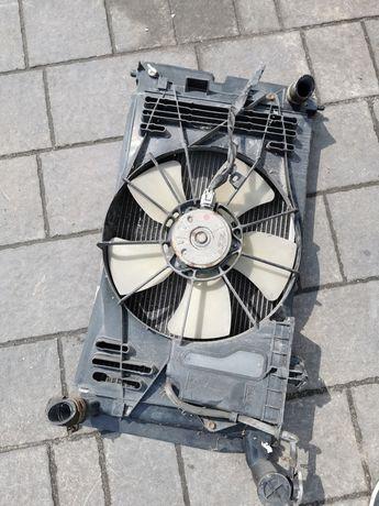 Wentylator chłodnica wody Toyota Corolla verso 01-04r. 1.8 vvti benzyn