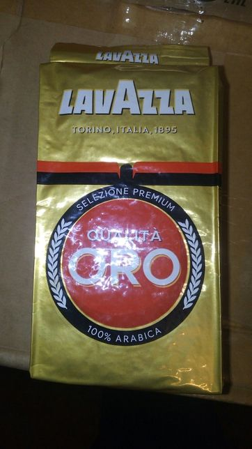 Lavazza Qualita Oro. Лаваза оро.