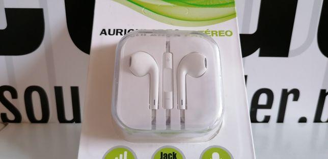 ID: 029 Słuchawki z mikrofonem do rozmów przewodowe typ earpods
