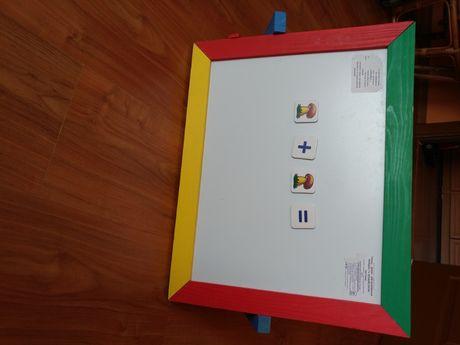Доска для рисования мелками и маркером