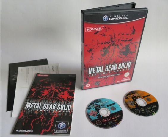 Metal Gear Solid the twin Snakes. GAMECUBE. ang okladka i gra.Unikat!!