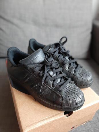 Adidas superstar 38 adidasy czarne sneakersy