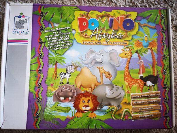 Domino Afryka - gra planszowa