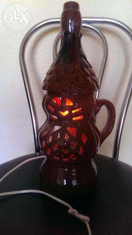 Лампа-ночник керамическая
