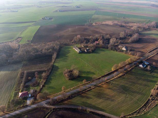 Gospodarstwo Główczyn siedlisko dom stodoła 3.36 Hektara