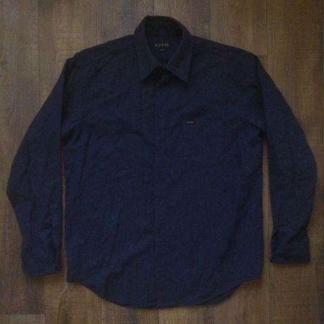 Шерстяной овершот - рубашка Guess