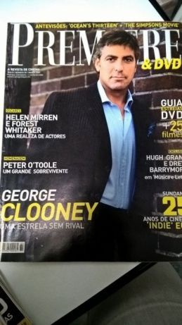 Revista Premiere - Capa George Clooney (portes incluídos)