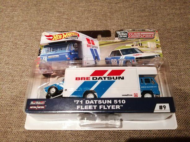 Hot Wheels Datsun 510 Fleet Flyer transport