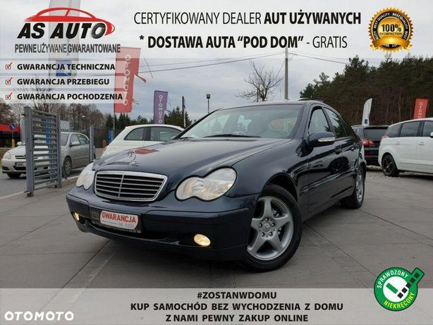 Mercedes-Benz Klasa C 2,0i 163KM Kompressor Classic Szyberdach GwArAnCjA