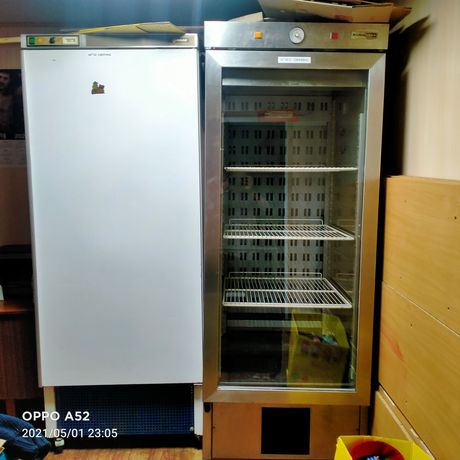 холодильна шафа нерж.-5+5