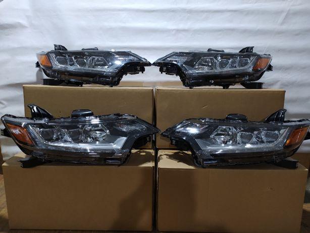 Mitsubishi Outlander фара капот крыло радиатор Аутлендер