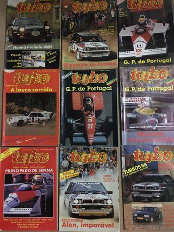Revistas turbo anos 86/87/88/89