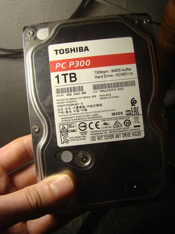 "Жесткий диск - Toshiba PC P300, 1TB, 3.5"""
