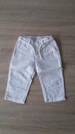Spodnie dla dziewczynki na lato H&M rozm. 80