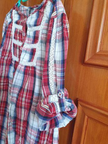 Vestido marca zara 5-6 anos usados pkucas vezes