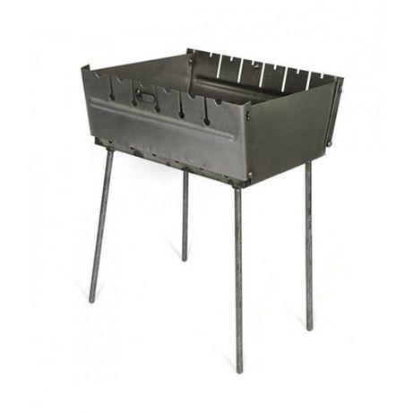 Мангал складной, мангал-чемодан, 2 мм сталь