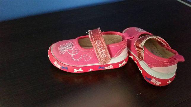 różowe buty/butki SMYK, r.20 adidasy