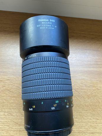 Mamiya/phase one objektyw makro 120 mm idealny