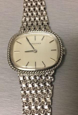 Relógio Longines prata 925 (modelo de senhora)