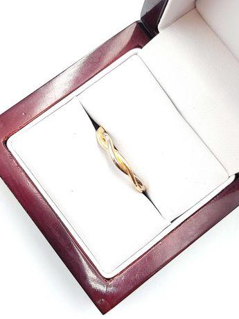 Złoty Pierścionek Pr: 585 Waga: 1,54 G R.17 PLUS LOMBARD