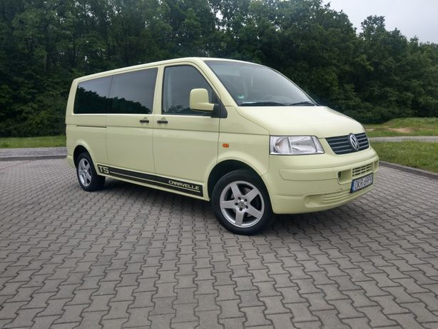 VW T5 1.9TDI Mini Camper Stan Idealny!!