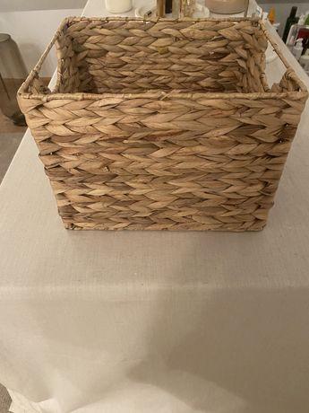 nowy kosz koszyk z hiacyntu wodnego ZARA Home