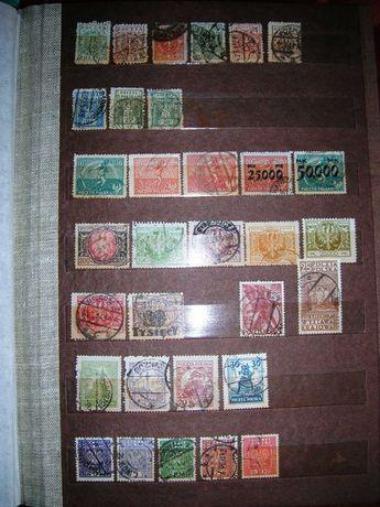 Polska. Gruby klaser. 646  znaczków + 8 bloczków.