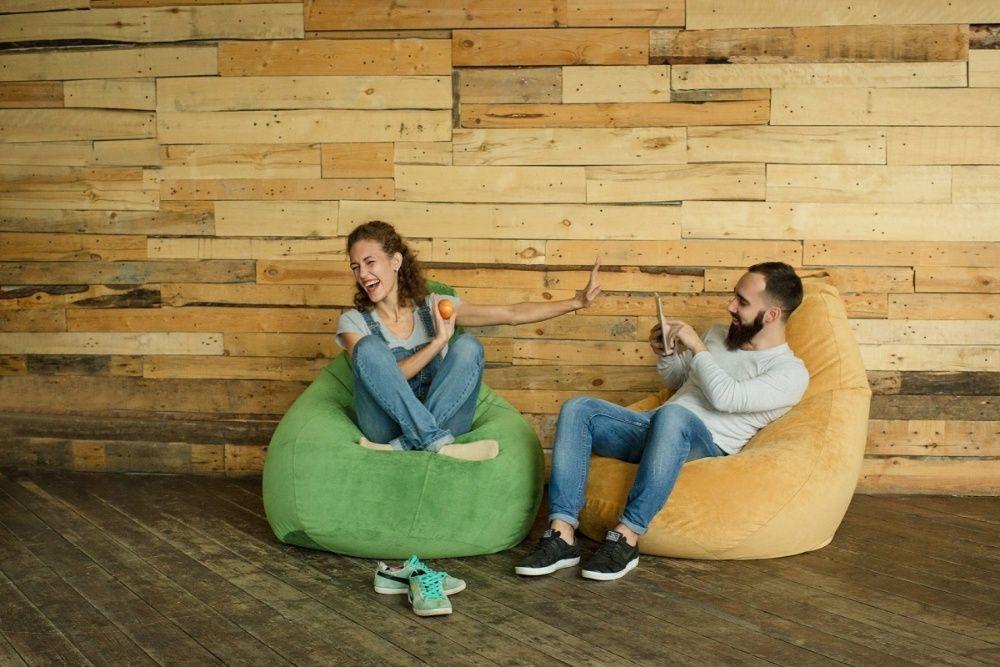 Кресло Мешок груша Пуф Крісло подушка для взрослых. Со Съемным Чехлом! Киев - изображение 1